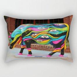 Arcoiris Cow Rectangular Pillow