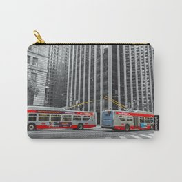 Buses Carry-All Pouch