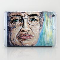 stephen king iPad Cases featuring Stephen Hawking by Michael Cu Fua