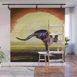Kangaroo Dreaming Wall Mural