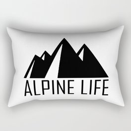 Alpine Life Rectangular Pillow