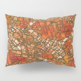 Fantasy City Maps 3 Pillow Sham