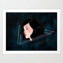 Brittle Art Print