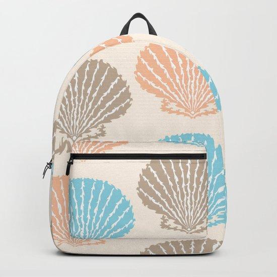 Pastel Marine Pattern 06 Backpack