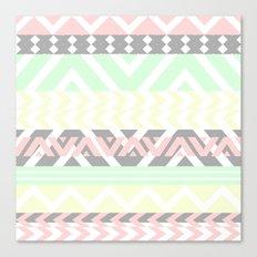 chevron pattern. Canvas Print
