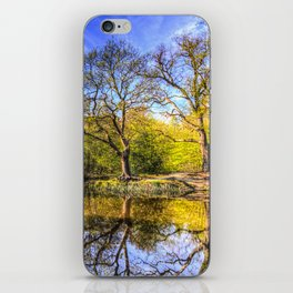 The Tranquil Pond iPhone Skin