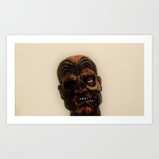 Maori zombie  Art Print