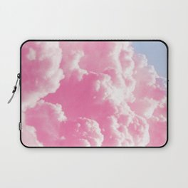 Retro cotton candy clouds Laptop Sleeve