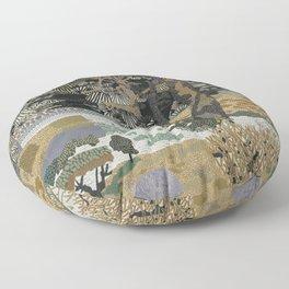 Garden Forest Floor Pillow