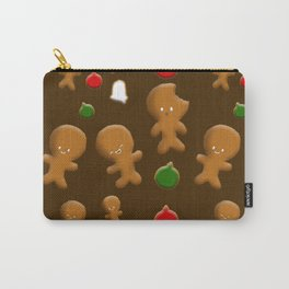 Gingerbread Men Pattern Carry-All Pouch