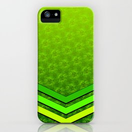 d20 Geek Meets Nerd Pattern iPhone Case