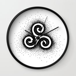 Triskele Wall Clock