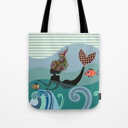 Cute Mermaid Tote Bag