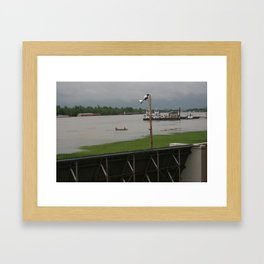 April 2011 Flooding in Ky Framed Art Print
