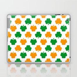 Irish Shamrocks Laptop & iPad Skin