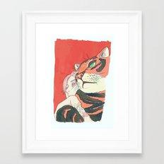 Thunder & Ding Framed Art Print