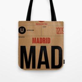 MAD Madrid Luggage Tag 2 Tote Bag