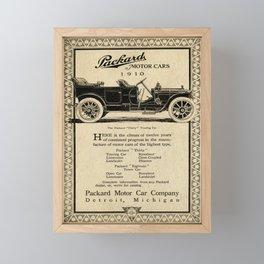Pachard - Vintage Poster Framed Mini Art Print