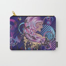 Grunge musc girl Carry-All Pouch