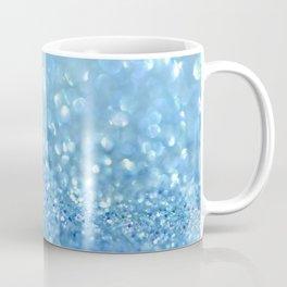 Sparkling Baby Sky Blue Glitter Effect Coffee Mug