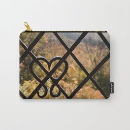 Rusty Heart Carry-All Pouch