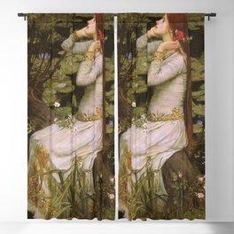 John Willliam Waterhouse Ophelia 1894 Blackout Curtain
