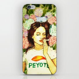 Hydranges and Peyote iPhone Skin