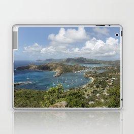 English Harbor as Seen from Shirley Heights - Antigua Laptop & iPad Skin