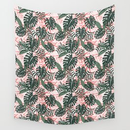 Pink Florida Rainforest Wall Tapestry