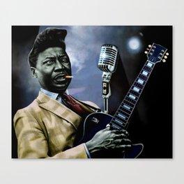 Muddy Waters no.1 Canvas Print