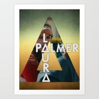 laura palmer Art Prints featuring Bastille - Laura Palmer by Thafrayer