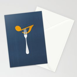 Hungry For Music Stationery Cards