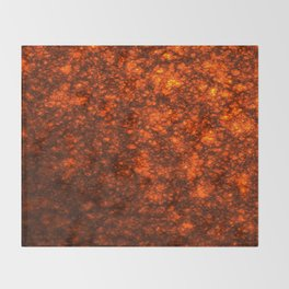Molten Lava Throw Blanket