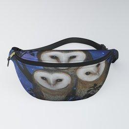 Owl Family Fanny Pack