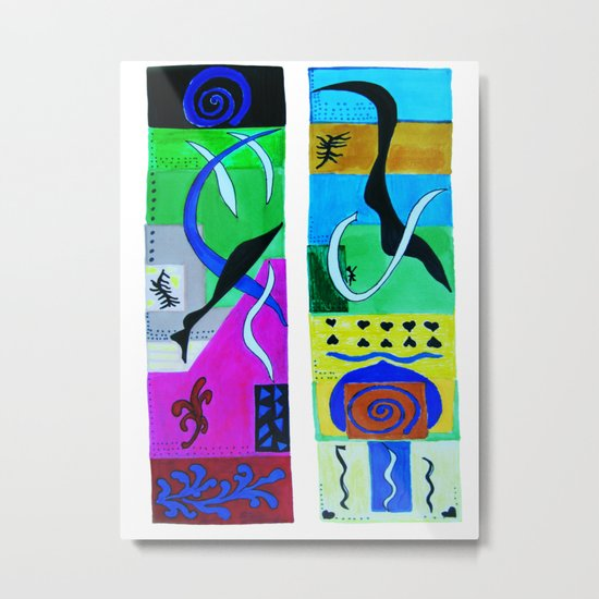 inspiration from Matisse Metal Print