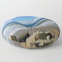 California Beach 1 Floor Pillow