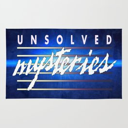 Unsolved Mysteries Remastered Rug