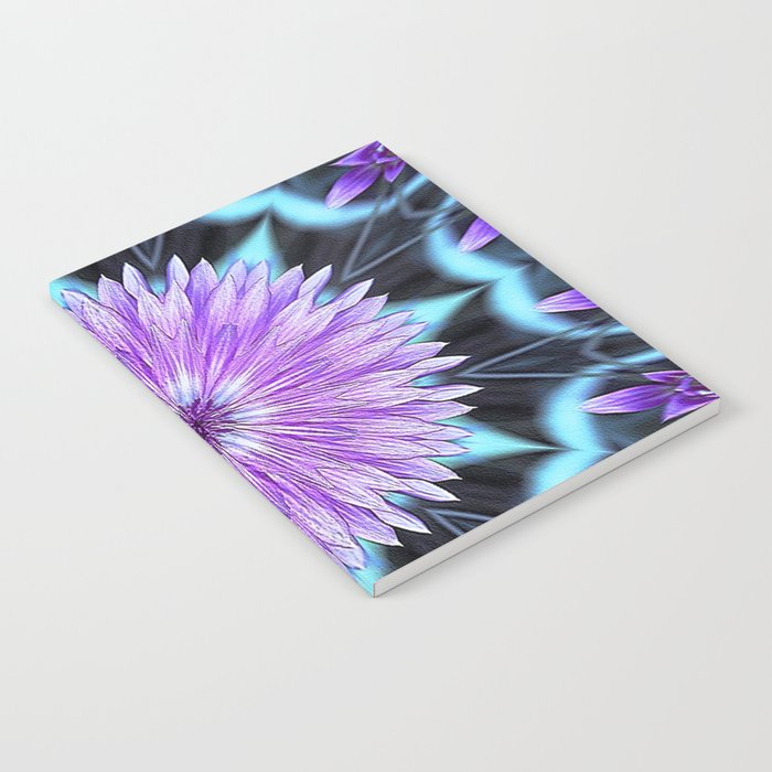 Floral Kaleidoscope Notebook