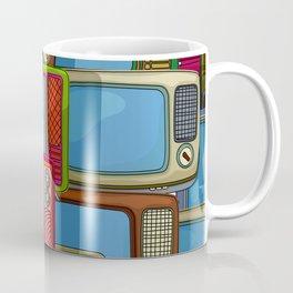 Tv set pattern Coffee Mug