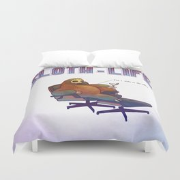 SLOTH LIFE fig. 1. Duvet Cover