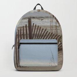 Beach with Sea Oats Backpack