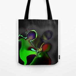 Intergalactic interrogation Tote Bag