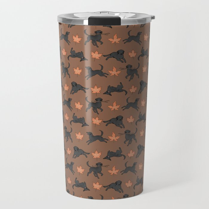 Black Lab Love Travel Mug