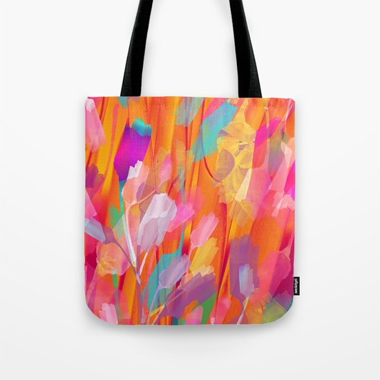 Floral abstract(55) Tote Bag