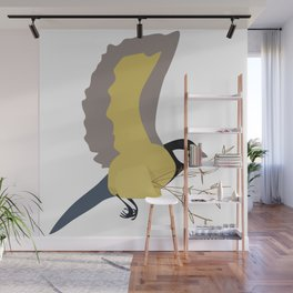 Bæremeis (Great tit carrier ?  :)   ) Wall Mural