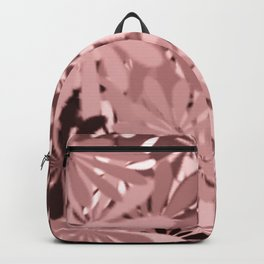 In The Tropics LIGHT PINK Backpack