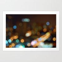 Light 4 Art Print