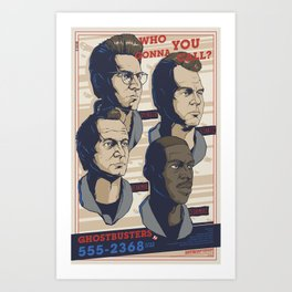 Ghostbusters 30th Anniversary Poster / VARIANT Art Print