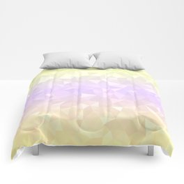 Pastel Ombre 3 Comforters