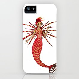 Lionfishmaid iPhone Case
